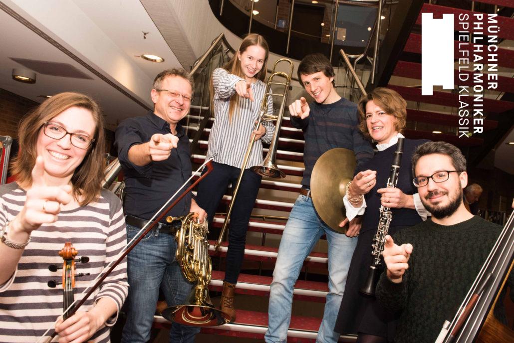 Musikerinnen und Musiker der Münchner Philharmoniker
